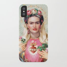 Saint Frida Kahlo iPhone Case