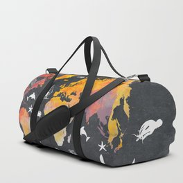 world map 101  #worldmap #map Duffle Bag