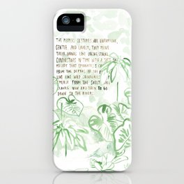"""Conquest of the Useless"" by Werner Herzog Print (v. 3) iPhone Case"
