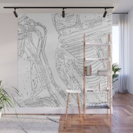 cycle detail, drawing 3 Wall Mural