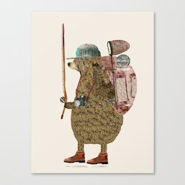 nature bear Canvas Print