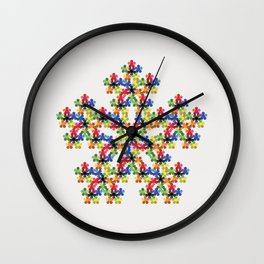 Pentagons Wall Clock