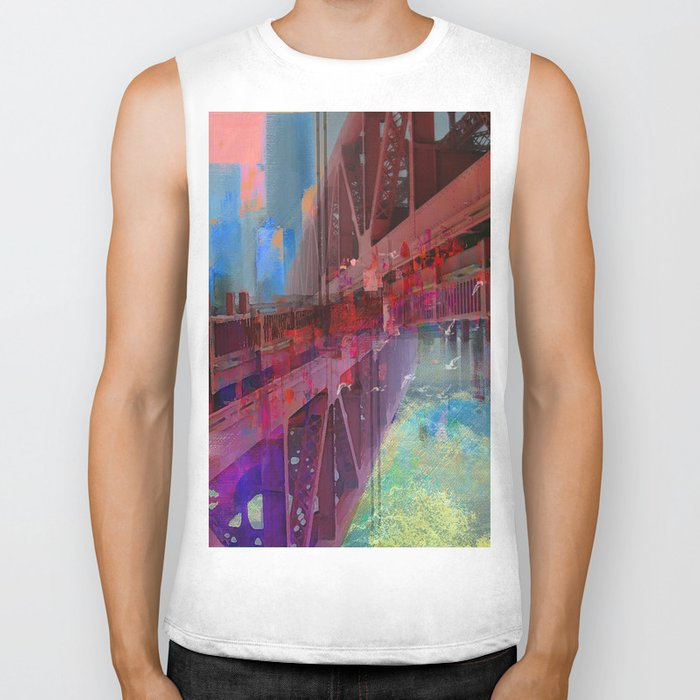 Double bridge Biker Tank