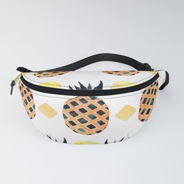 Pineapples in a Row Fanny Pack
