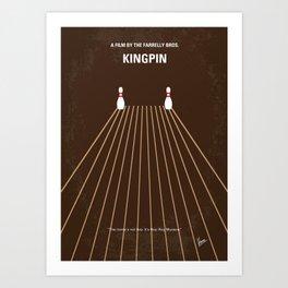 No244 My KINGPIN mmp Art Print