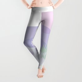 Little pebbles and tropical leaf planet #society6 #minimalart #abstractart Leggings