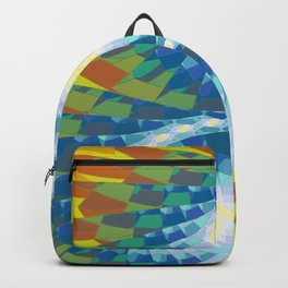 Fractal Earth Bound Design Backpack