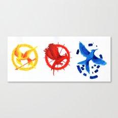 The H Games - Mockingjay Canvas Print
