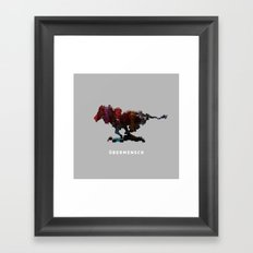 Übermensch - LIMITED TIME Framed Art Print
