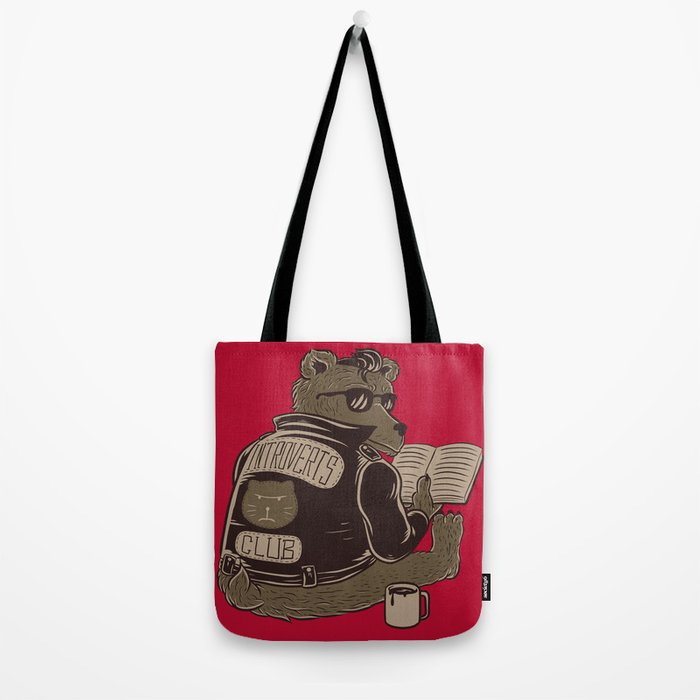 Introverts Club Tote Bag