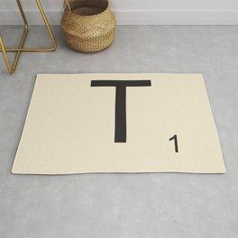 Scrabble T Rug