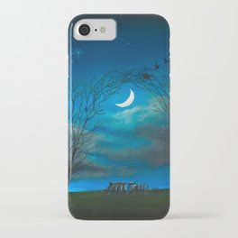 The Moon Gate iPhone Case