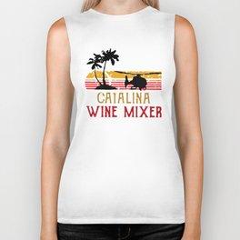 Vintage Catalina wine mixer Biker Tank