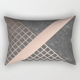 Copper & Concrete 03 Rectangular Pillow