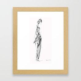 Fall look Framed Art Print