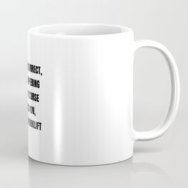 When Autocorrect tampers with your curse words. Coffee Mug