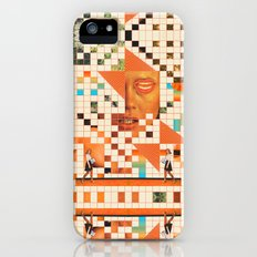 Orange poem iPhone (5, 5s) Slim Case