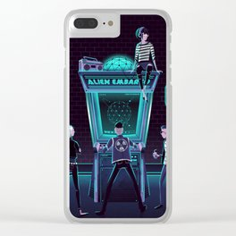 Alien Embargo Clear iPhone Case