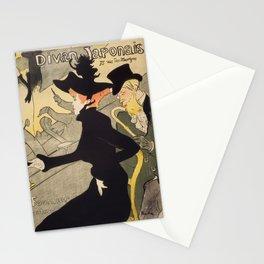 """Henri de Toulouse-Lautrec """"Divan Japonais"""" Stationery Cards"""