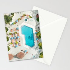 holiday villa in miami Stationery Cards