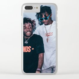 uzi and carti Friends Clear iPhone Case