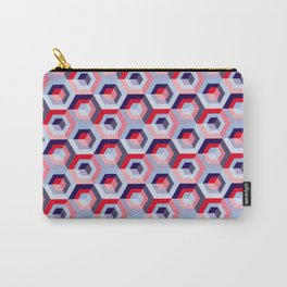Pattern graphic cubes Carry-All Pouch