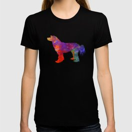Chinese Crested Powder Puff 01 in watercolor T-shirt