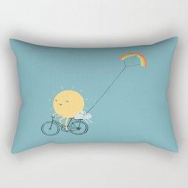 Rainbow Kite Rectangular Pillow