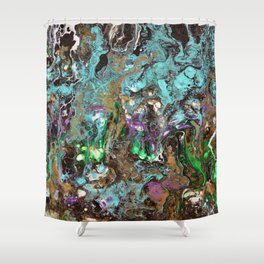 Welcome to the garden of Eden Shower Curtain