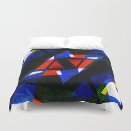 pattern decor art Duvet Cover