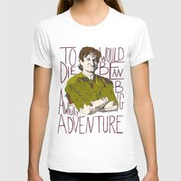 robin williams T-shirts featuring Robin Williams Hook Peter Pan Quote  by kdwdesigns