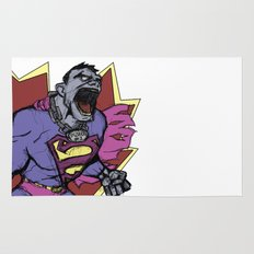 Bizarro Superman! Rug