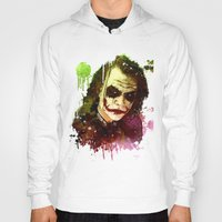 joker Hoodies featuring Joker by Sirenphotos