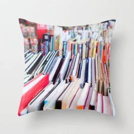 Strand of Books Throw Pillow