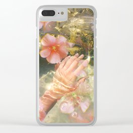 Growing & Glowing Clear iPhone Case