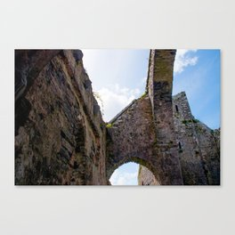Abandoned Abbey Canvas Print