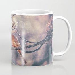 Northern Red Cardinal Spring Coffee Mug