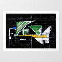 Archifantasy #2  Art Print