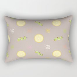 Lemon & Olive Rectangular Pillow