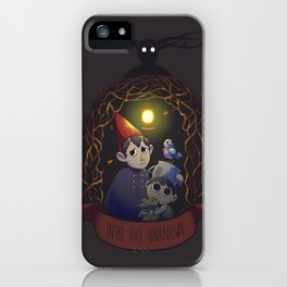 Into the Unknown iPhone Case