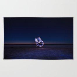 Lightpainting Rug
