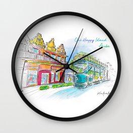 Aruba Oranjestad Wall Clock