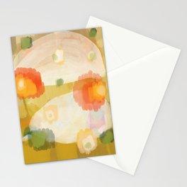 chameleon orange Stationery Cards