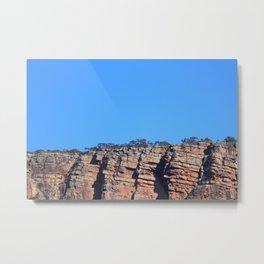 Outback Rocky Mountains Metal Print
