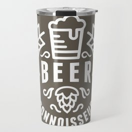 Beer Badge One Color Travel Mug