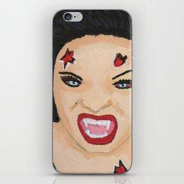 Vampiress \,,/ iPhone Skin