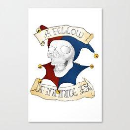 Hamlet: Yorick Canvas Print