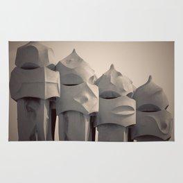 Gaudi's Chimneys Rug