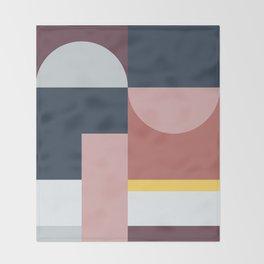 Abstract Geometric 05 Throw Blanket