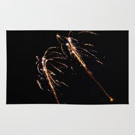 Jets of Fireworks Rug